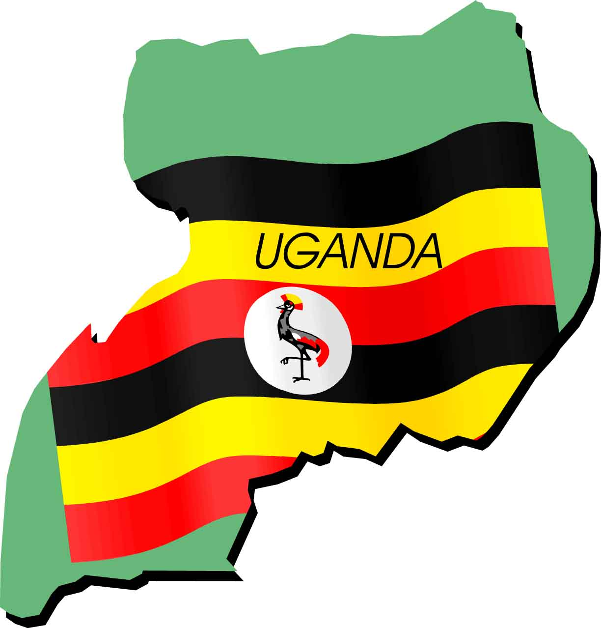 Uganda Showcases Trade Potential In Central Asia AFRICA ON THE RISE - Uganda map hd