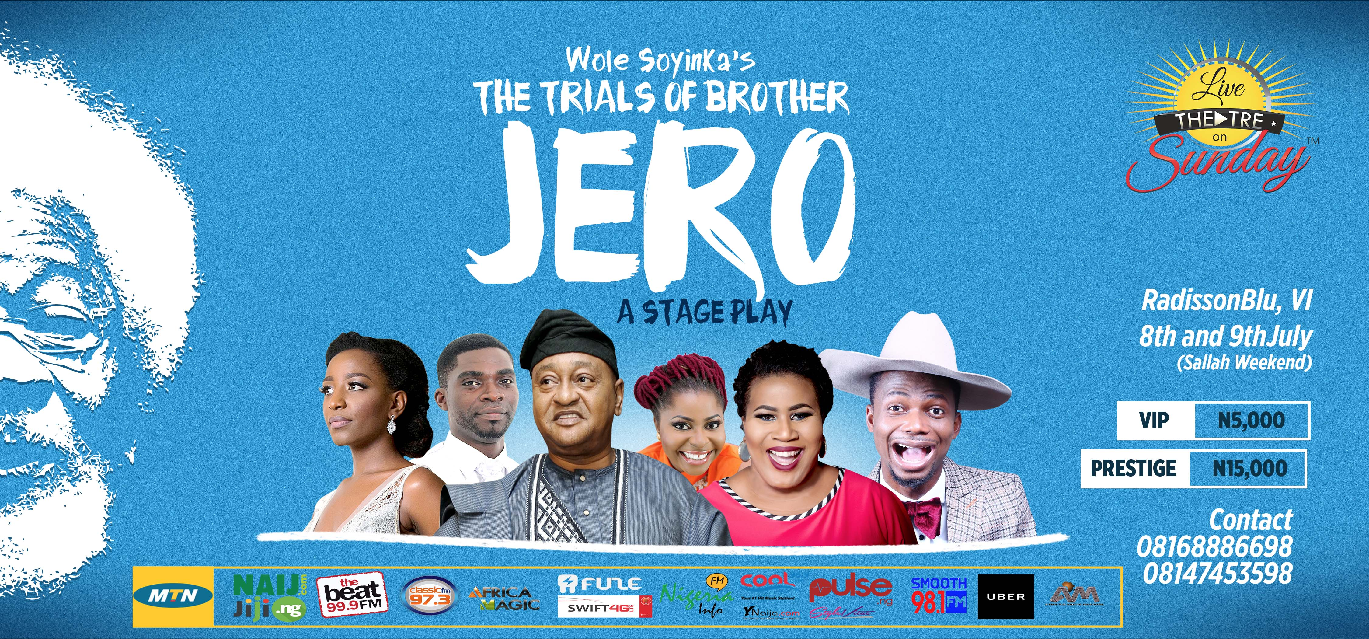 the trials of brother jero The trials of brother jero wole soyinka 1960 introduction author biography plot summary characters themes style historical context critical overview criticism.