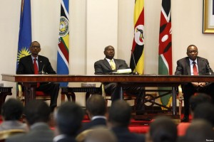 East Africa Presidents