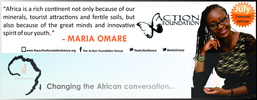 Featured African Series - Maria Omare
