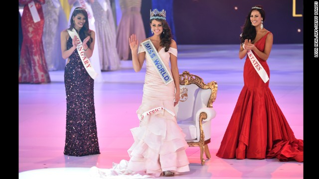 Miss South Africa wins Miss World