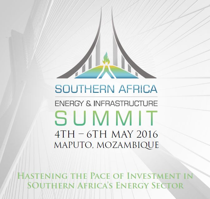 Southern Africa Energy and Infrastructure Summit (SAEIS) will be held in Maputo, Mozambique 4-6th May 2016