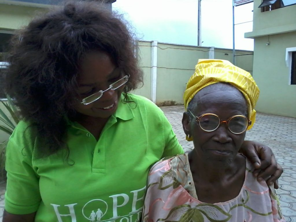Wunmi Cosmas and the Oldest HFTO Member