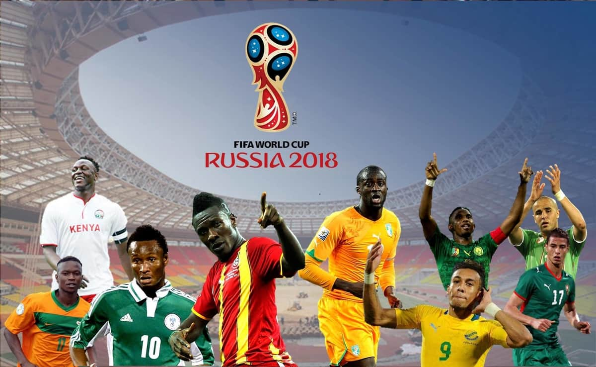 Image result for african teams in world cup football 2018