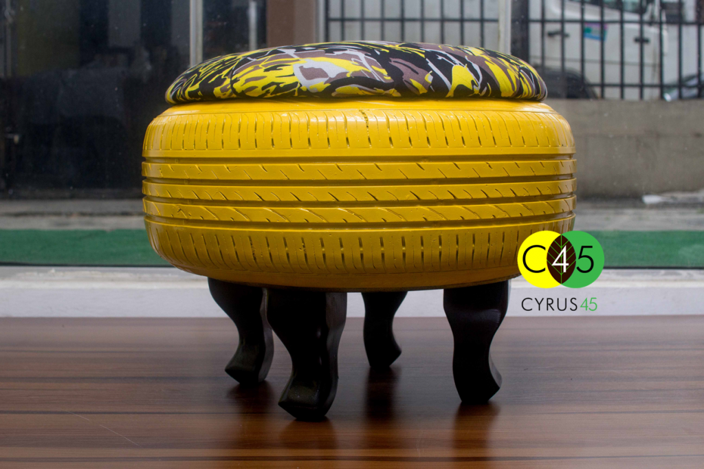 Cyrus45 Centre Table - Yellow