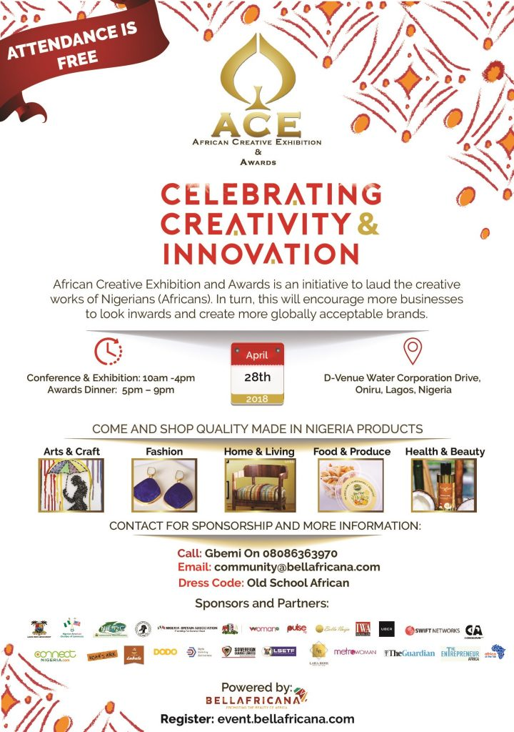 ACE Awards 2018 Flyer