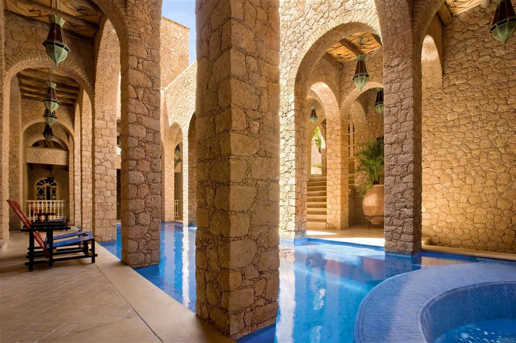 Find your moment of zen in the spa at La Sultana Oualidia © La Sultana