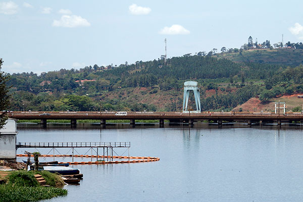 The old Nalubaale bridge will now be used by motorcyclists [Photo Credit: MORGAN MBABAZI | NMG]