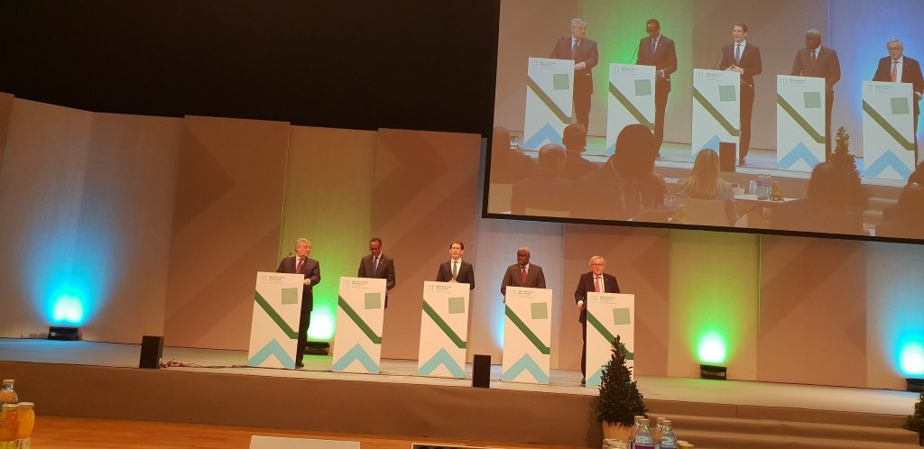 Opening of the High-Level Forum Africa-Europe 2018, Vienna